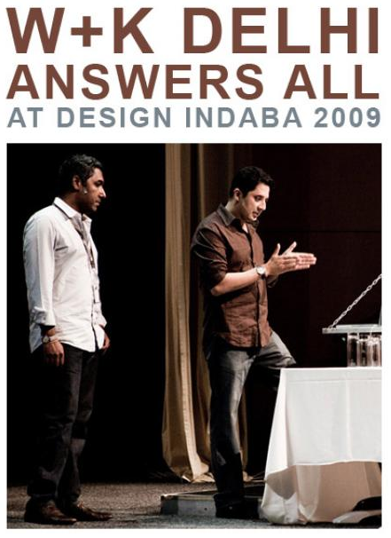 Sunil and Mohit at Design Indaba